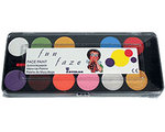 12 Farb-Palette Funny Face Kryolan
