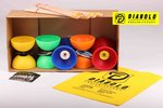 Diabolo Pack Henrys Circus + Holzhandstäbe